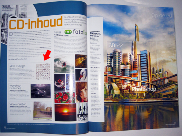 Advanced Photoshop NL 27 CD Pages